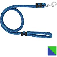 PetSutra Dog Rope Leash Blue, Brass Hook (1.64mtr, 15mm)