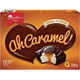 VACHON Ah Caramel! Cakes with Chocolatey Coating, Caramel and Creamy Filling, Contains 12 Cakes (6 Packs, Twin Wrapped)