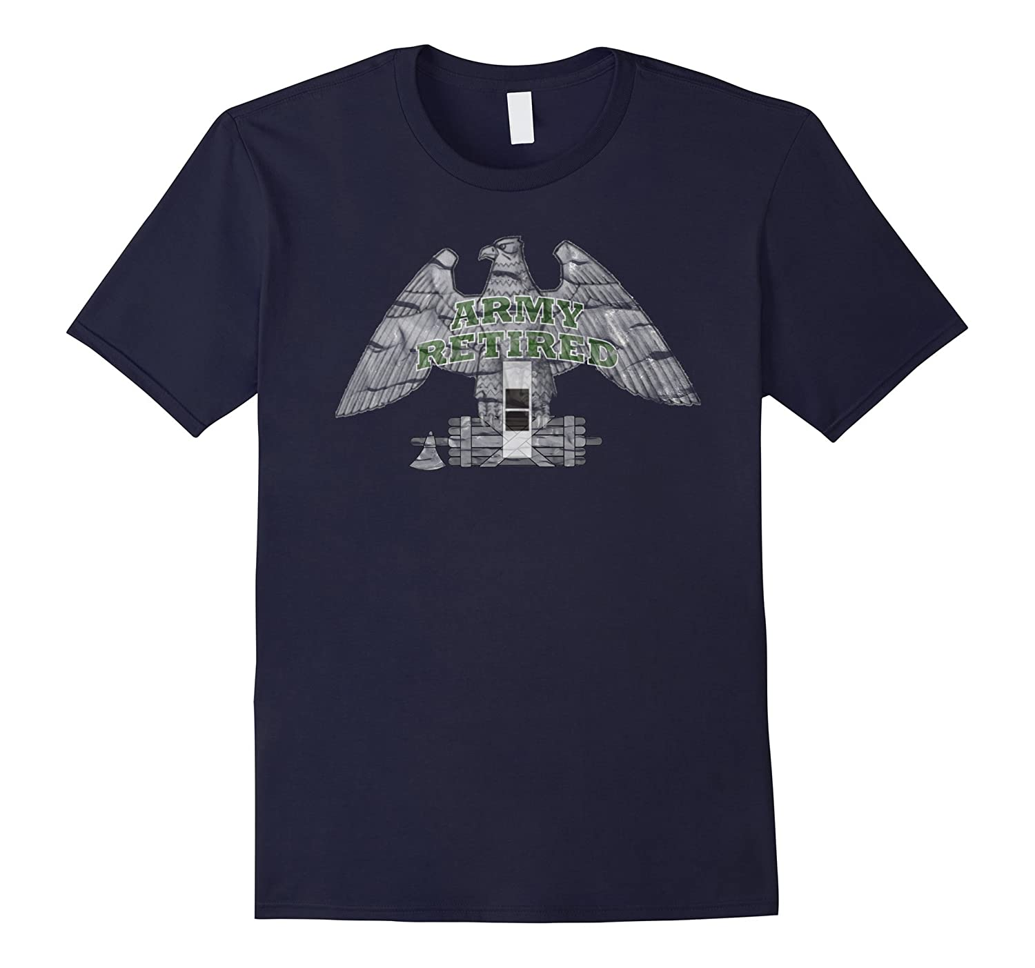 ARMY RETIRED CHIEF WARRANT OFFICER 2 DISTRESSED T-SHIRT-CD