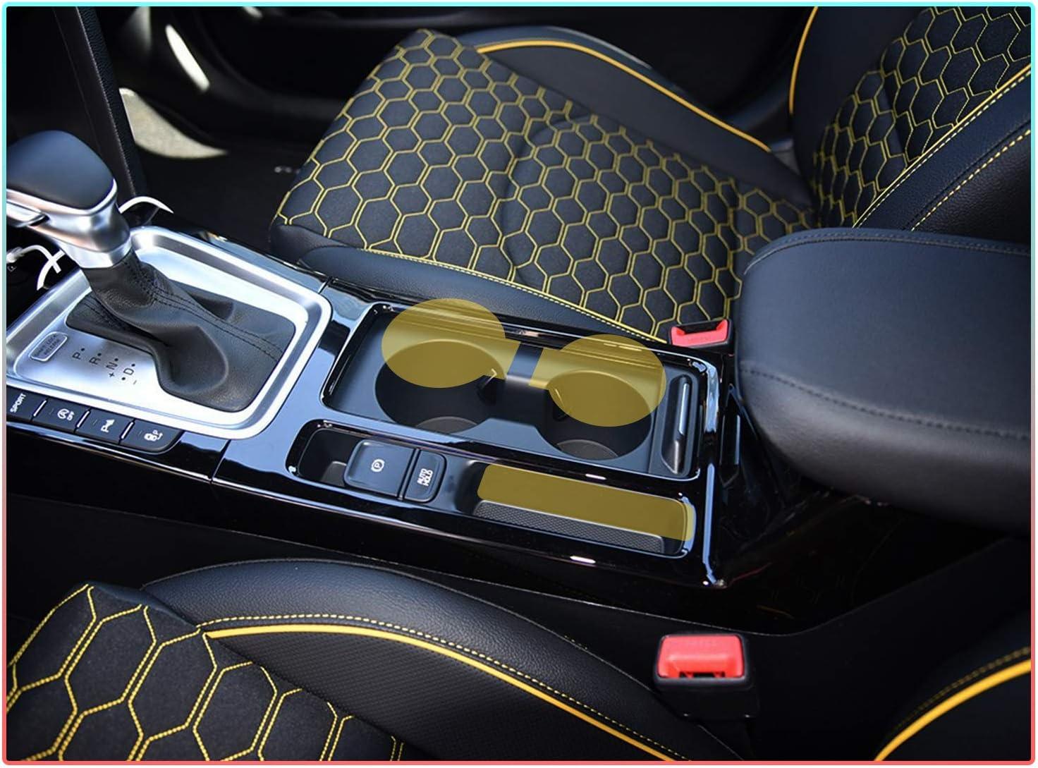 CDEFG f/ür Ceed XCeed Auto Innere T/ürschlitz rutschfest Anti-Staub Becherhalter Matte Arm Box Aufbewahrung Pads