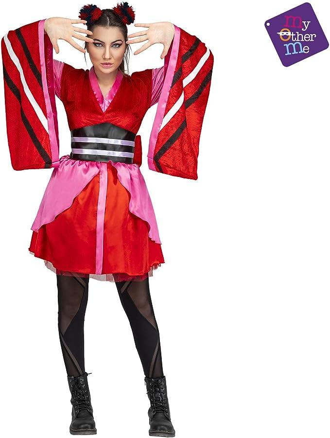 My Other Me Disfraz de Cantante Manga Eurovisión para Mujer: Amazon.es: Juguetes y juegos