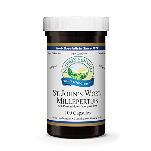 Nature s Sunshine St John s Wort Concentrate 100 Capsules