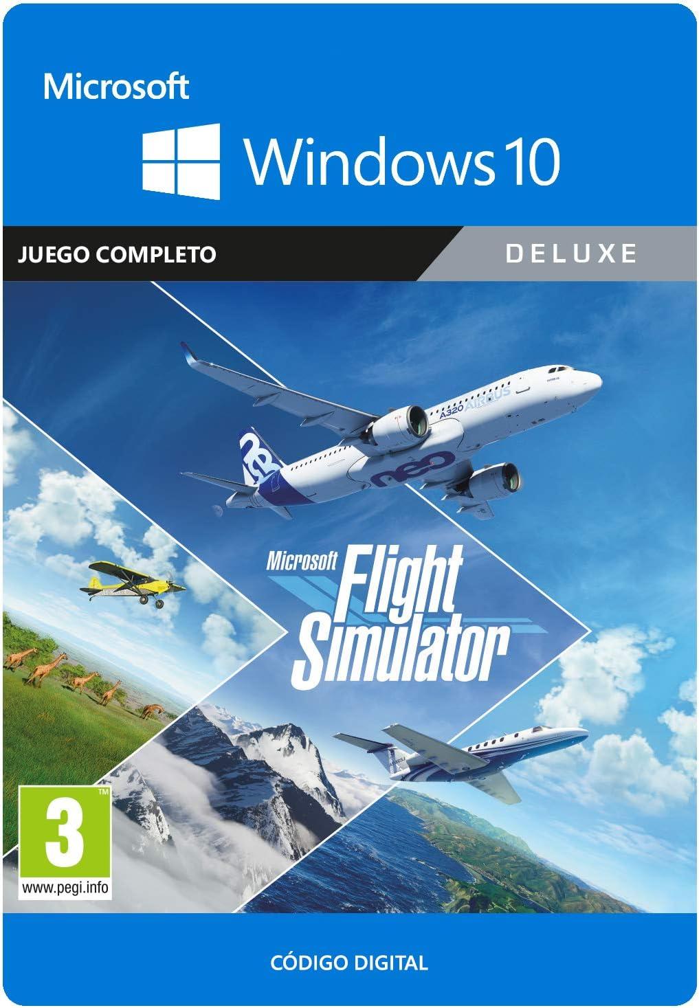 Microsoft Flight Simulator Deluxe Edition | Código para PC