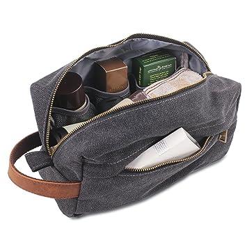 Amazon.com   Canvas Shaving Dopp Kits Bag 1661981493108