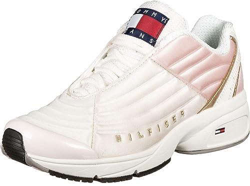 Zapatillas Tommy Hilfiger Heritage Rosa Mujer: Amazon.es: Zapatos y complementos