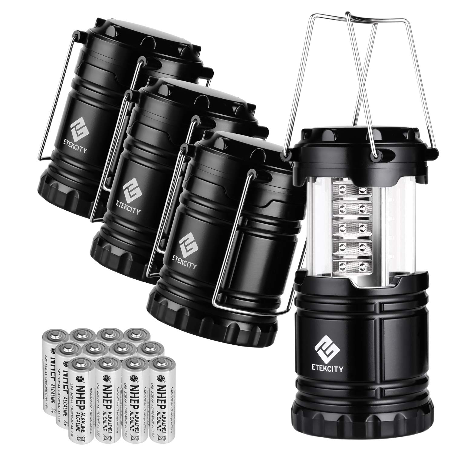 Portable LED Camping Lantern Flashlight