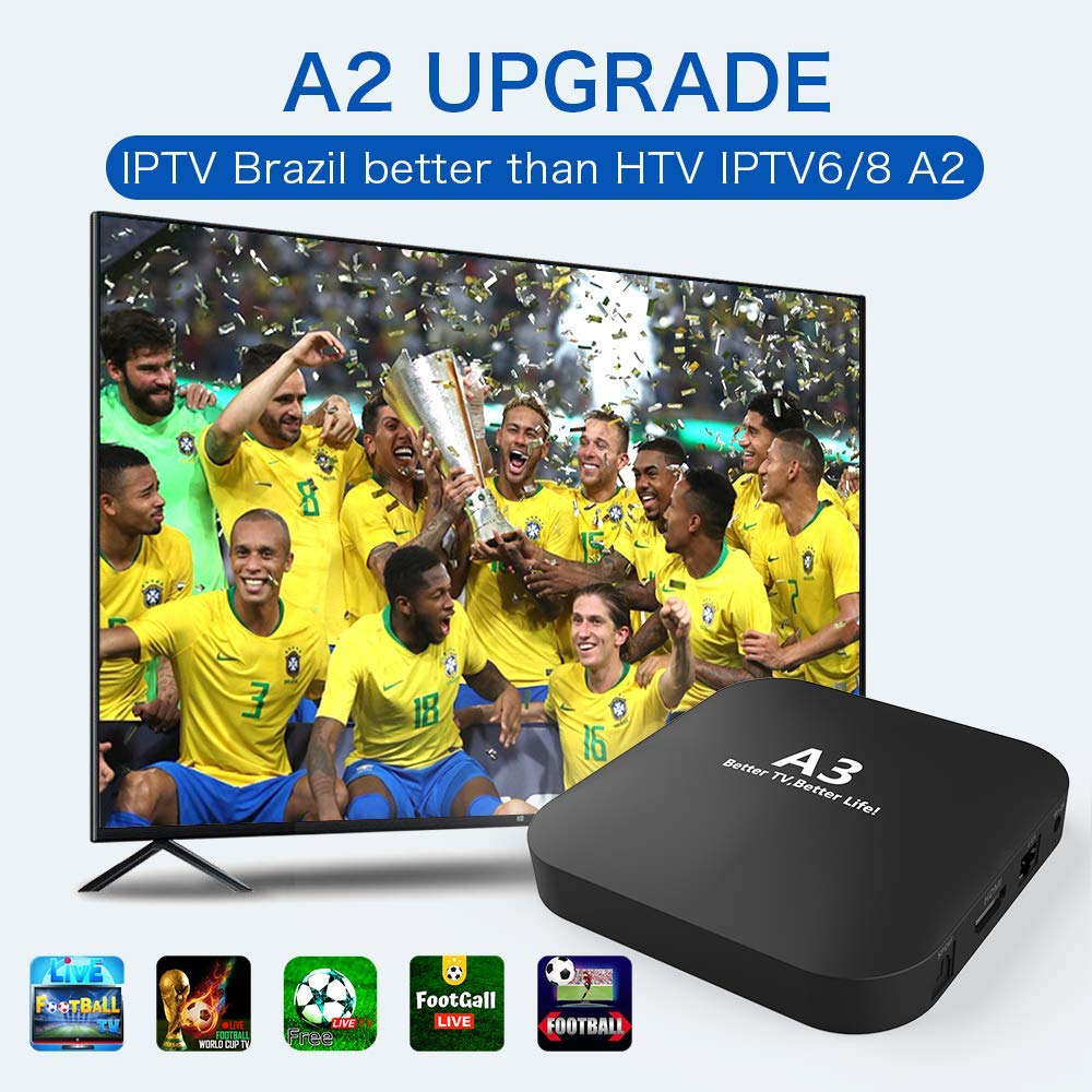 IPTV Brazil Brazilian Box,2020 Newest A3 Brasil Box