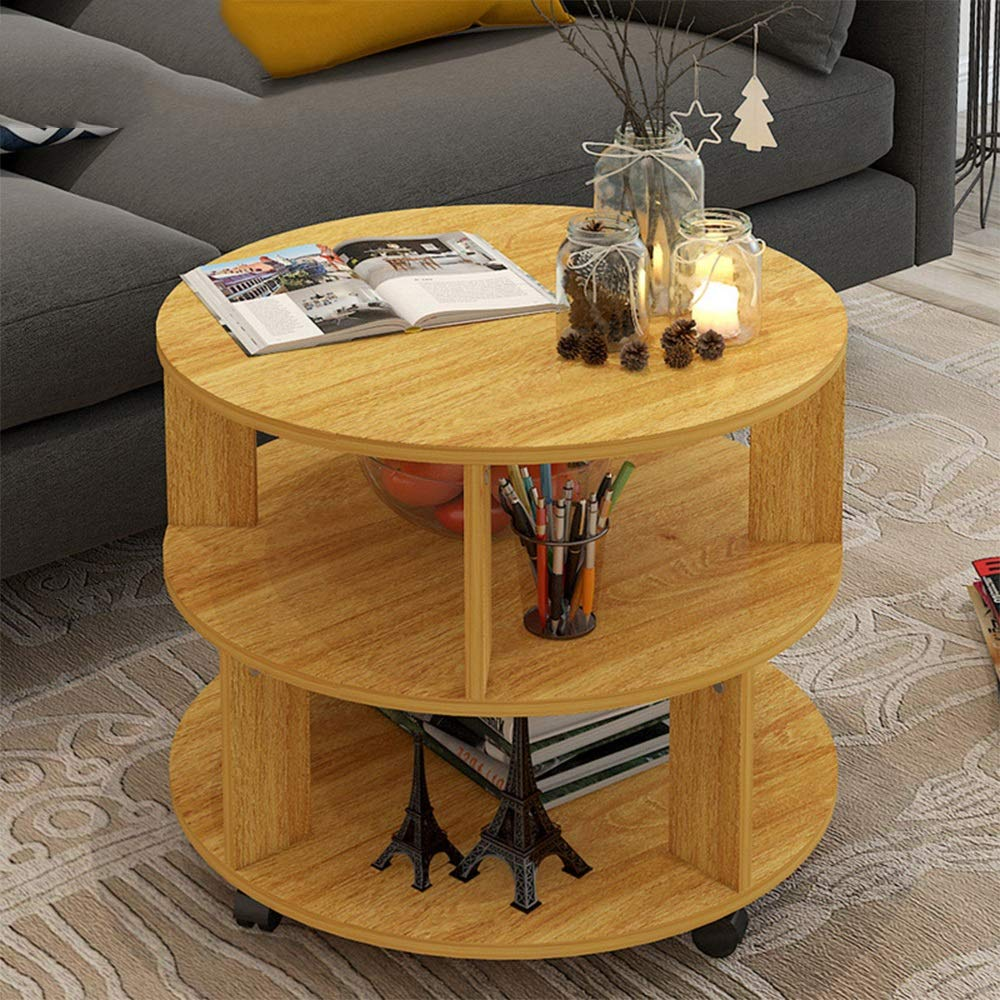Amazon Com Xiaomei Round Coffee Table Living Room Low Table
