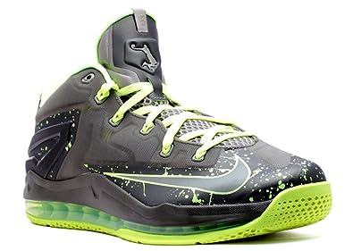 premium selection 15a98 44abb Nike Max Lebron XI Low Dunkman Men s Shoes Medium Khaki Medium Khaki-Volt-
