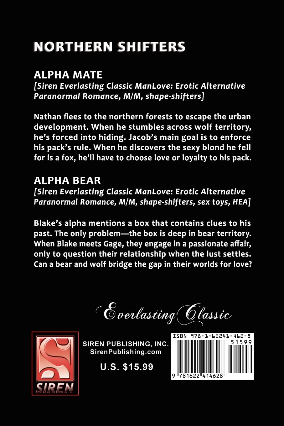 A Mate for the Alpha and His Brothers [The Cat Burglars 4] (Siren Publishing Men