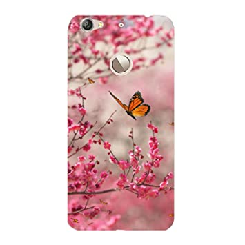 meet b0076 743b5 Clapcart Butterfly Design Printed Mobile Back Cover for LeTV Le 1S  -Multicolor