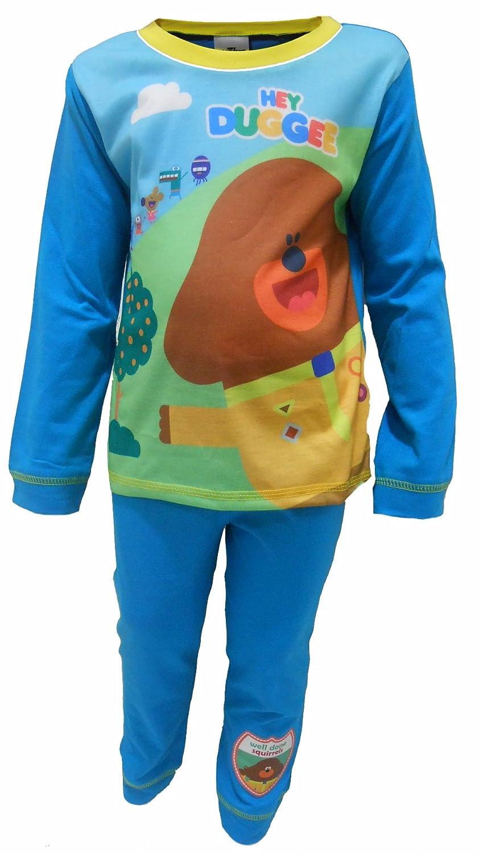 Pijama Oficial de Hey Duggee para ni/ños Color Azul