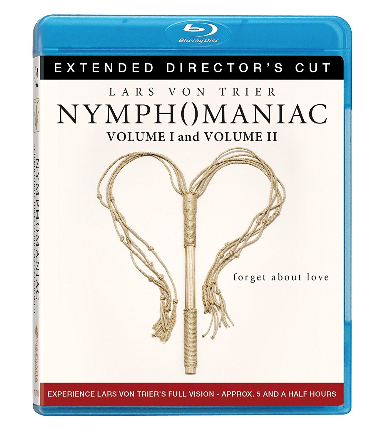 Blu-ray : Nymphomaniac 1 & 2 (Director\'s Cut / Edition, 2 Disc)
