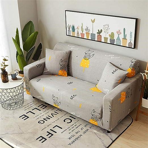 Ranferuyk Funda elástica para sofá en Forma de L, Funda para ...