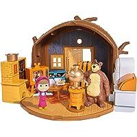 Masha and the Bear House Bear Masha Packable Playset