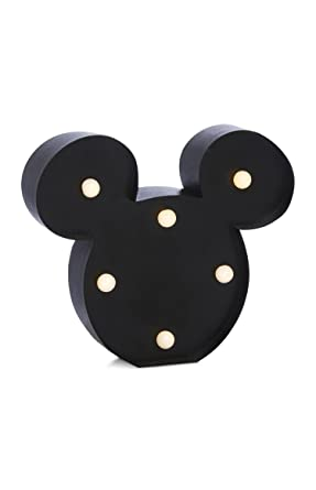 LED-Lampe in Form von Disneys Micky/Minnie Maus ...