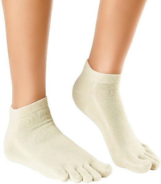 Knitido Naturals Organics Sneaker | Calcetines tobilleros de dedos ...