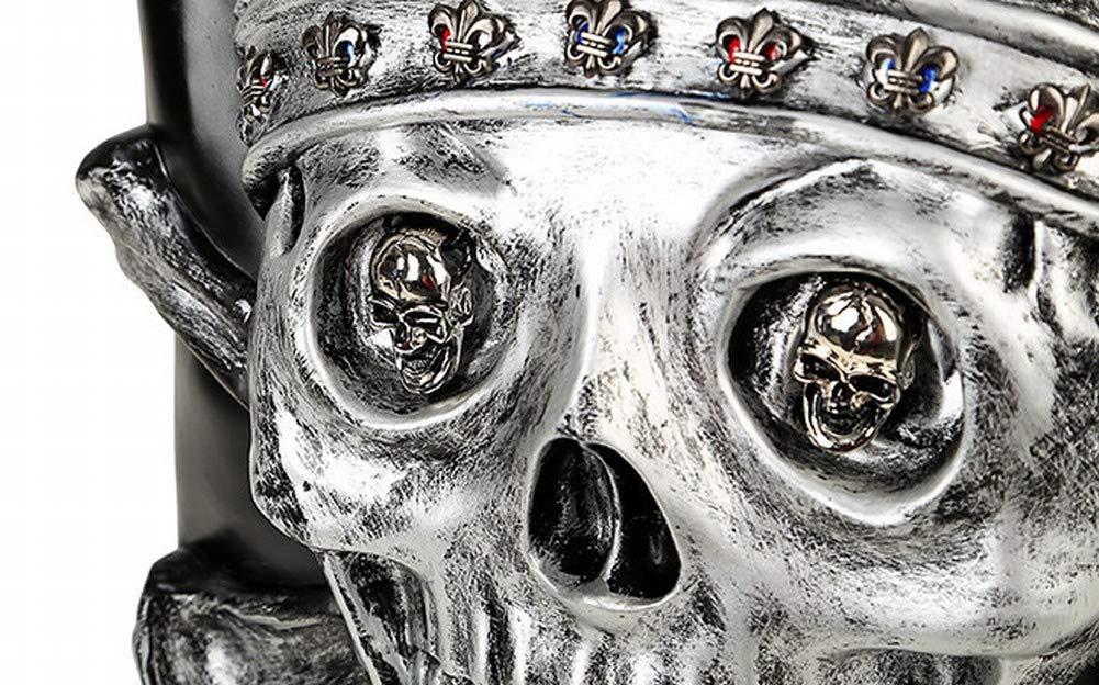 QiXian Skull Rucksack 3D Persönlichkeit Reisen Reisen Reisen Männer und Frauen Schüler Buch, Schwarz B07JNND2H2 Daypacks Luxus 318bde