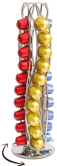 276 opinioni per Coffee Shop- Isis CH0016- Portacapsule rotary in metallo acciaio inossidabile