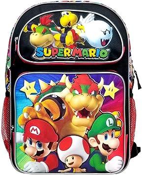 Super Mario Bros Super Bowser #N43718 Mochila Grande: Amazon.es: Equipaje