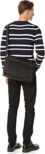 Michael Kors Men s Kent Nylon Large Messenger Bag, Black, One Size