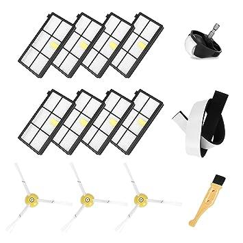 FHzytg 13 Stück Ersatzteile Kompatibel Ecovacs Robotics Deebot Slim Slim 2