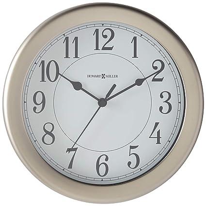 Amazon Com Howard Miller 625 283 Aries Wall Clock Home Kitchen