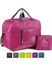9a12964bcd WANDF Foldable Travel Duffel Bag Sac de Voyage Pliable Sac de Sport Gym  Résistant à l