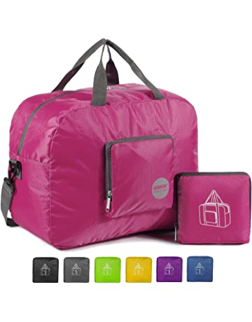 b8d8de8e1 WANDF Foldable Travel Duffel Bag Super Lightweight for Luggage, Sports Gear  or Gym Duffle,