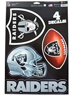 5e68e4640 WinCraft Official National Football League Fan Shop Licensed NFL Shop  Multi-use Decals (Oakland