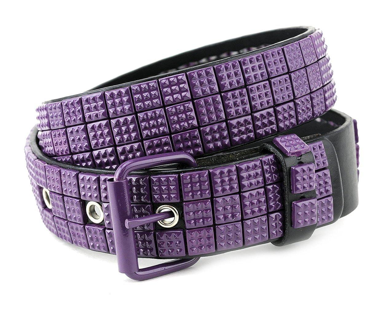 b41237263f5f NYfashion101 Superbe et rare ceinture à mini clous de style punk des ...