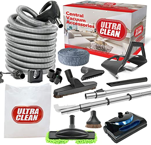 Central Vacuum 30ft 3-way Pigtail//Corded Electric Hose-BEST IN THE MARKET NEW!