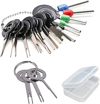 Ppx 21 Stück Terminals Removal Key Tools Set Für Auto Auto Elektrische Verdrahtung Crimpverbinder Pin Extractor Puller Repair Remover Key Tools Set Für Die Meisten Anschlussklemme Baumarkt