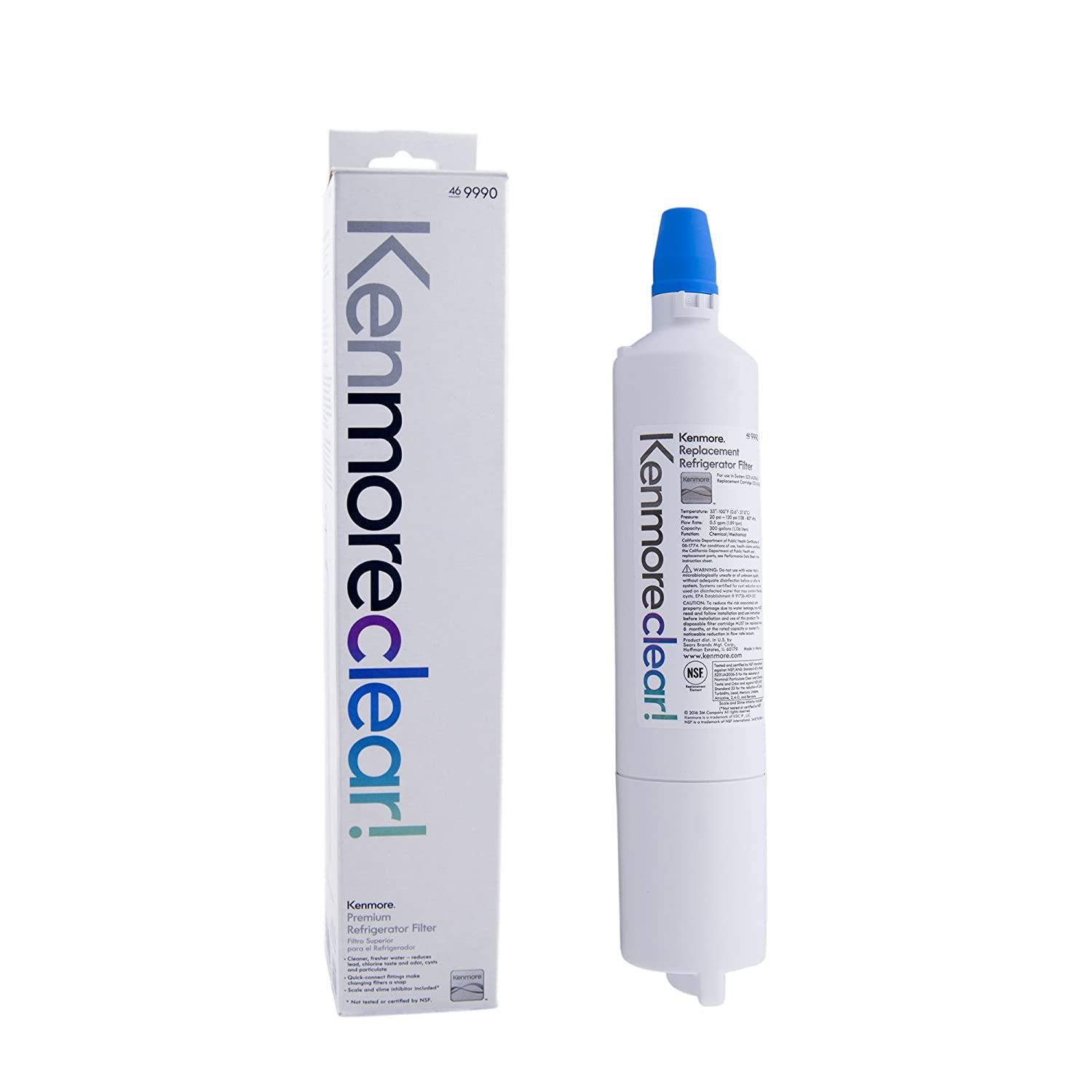 Genuine Kenmore Refrigerator Water Filter 9990