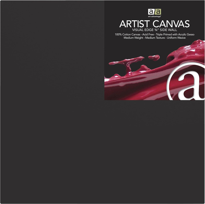 Art Advantage 10-Inch by 10-Inch Artist Canvas