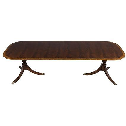 Amazon.com - Flame Mahogany Dining Room Table - Tables