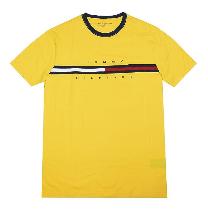 36081c7d0050 Tommy Hilfiger Men Classic Fit Big Logo T-Shirt  Amazon.ca  Clothing ...