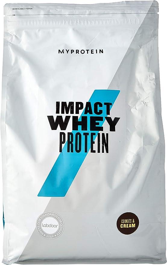 MyProtein Impact Whey Proteína de Suero, Sabor Cookies ...