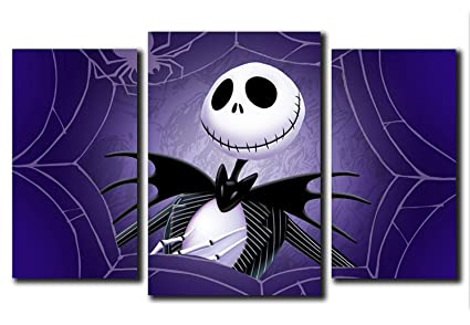 nightmare before christmas jack design modular pictures painting wall art decor home room decoration canvas printed