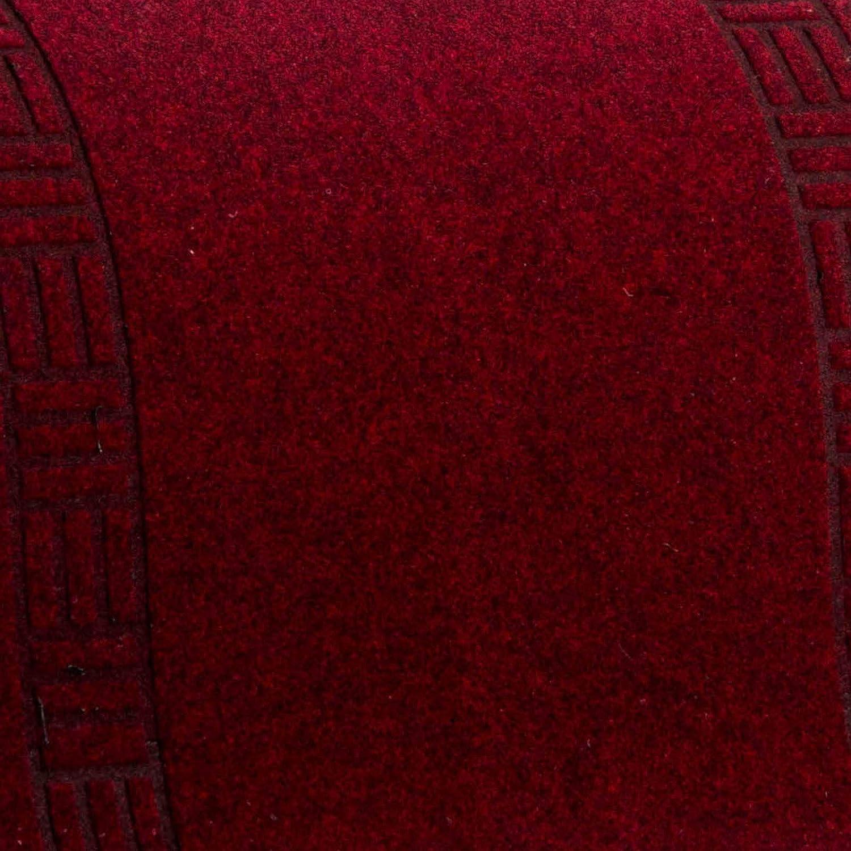 66x180 cm | Flurl/äufer in vielen Gr/ö/ßen w/ählbar Flur UVM strapazierf/ähiger Teppich L/äufer f/ür K/üche Floori K/üchenl/äufer rot