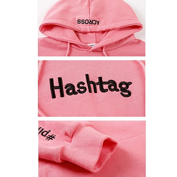 Amazon.com: Lime Women s Autumn And Winter Season Casual Pink Dress Cotton Long - Sleeved Pullover Comfort Pocket Hoodie (Color : Pink , Size : S) : Home ...