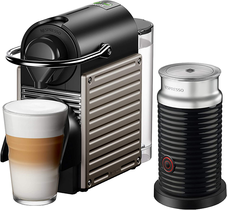 Krups Nespresso Pixie XN305T 1260 - Cafetera de cápsulas, color ...