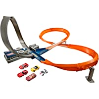 Hot Wheels- Pista de Carreras, Multicolor (Mattel X2586)