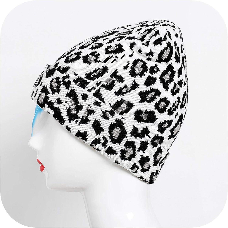 Winter Leopard Wool Knit...