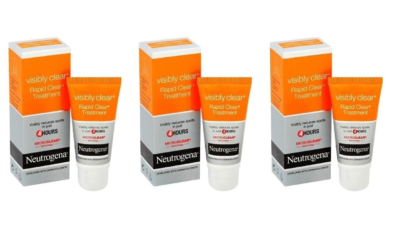 neutrogena visibly clear rapid clear treatment