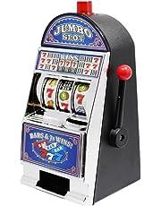 ToySharing Casino Slot Machine Bank Toy With Sound Flashing Lights 22cm