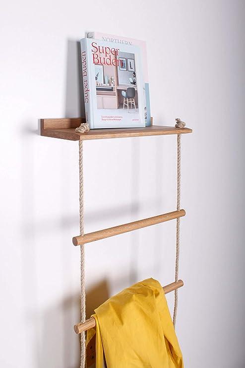 kleiderleiter.de Stella - Escalera para Ropa (Fabricada a Mano en Alemania): Amazon.es: Juguetes y juegos