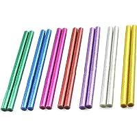 Xinlie Standaard lijmsticks gekleurde lijmsticks pigment bar hete lijm voor hete lijmpistolen Ø11 mm 14 stuks gekleurde…