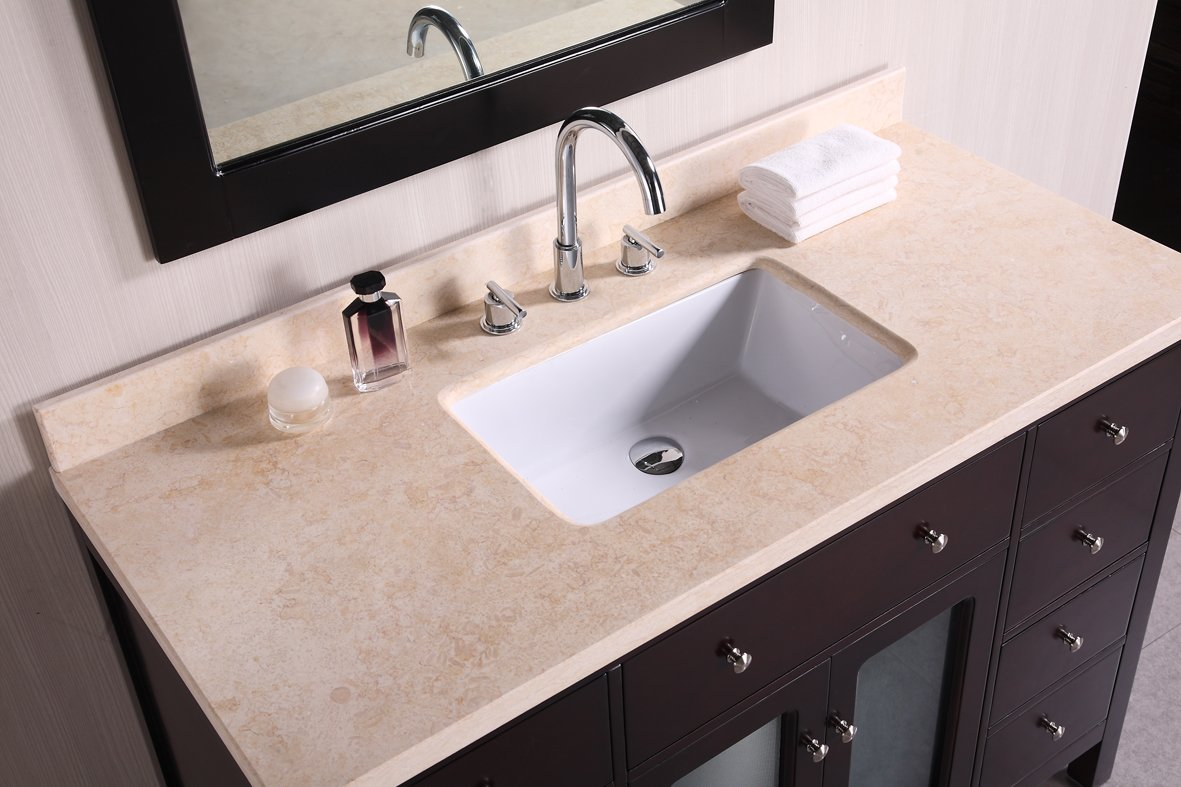 Design Element DEC302C Venetian 48 Inch Single Sink Vanity Set   Bathroom  Vanities   Amazon.com