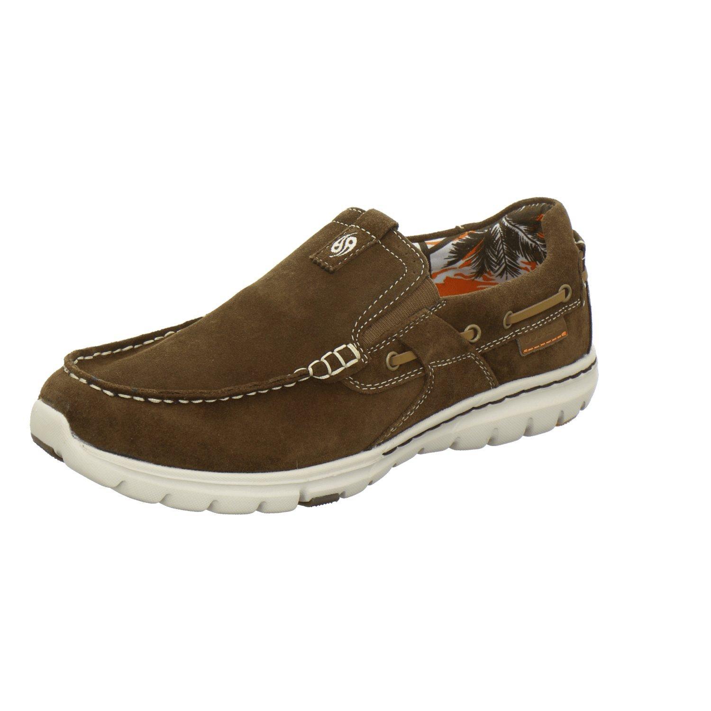 Dockers by Gerli 38mn003-201300 - Mocasines de Piel para hombre, color marrón, talla 45: Amazon.es: Zapatos y complementos